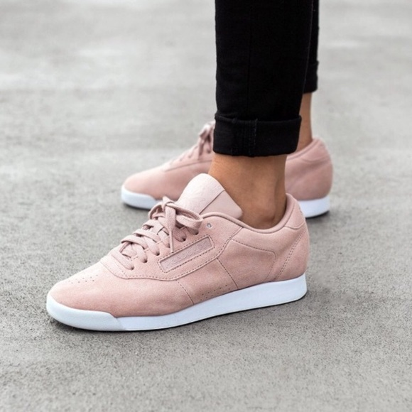 Boutique Reebok Princess Pink Trainers In Shoes Women